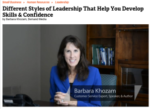 barb - different styles of leadership - crop